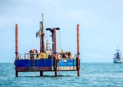 Luanda Fish Port: Quay Walls Construction