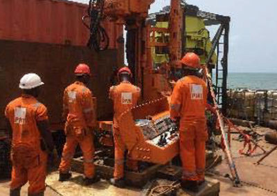Fugro – Wharf Section CNPC